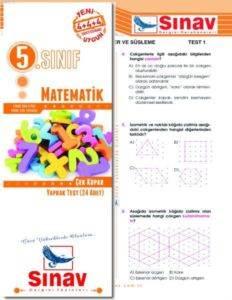 5.Sınıf Matematik Yaprak Test (24 Test)