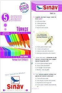 5.Sınıf Türkçe Yaprak Test (24 Test)