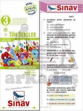 3.Sınıf Tüm Dersler  Yaprak Test (48 Test)
