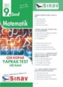 9.Sınıf Matematik Yaprak Test (48 Test)