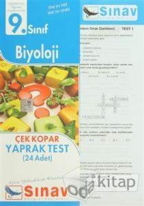 9.Sınıf Biyoloji Yaprak Test (24 Test)
