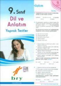 9.Sınıf Dil Ve Anlatım-Türk Edebiyatı Yaprak Test (40 Test)