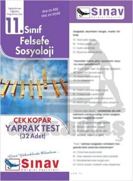 11.Sınıf Felsefe Sosyoloji Yaprak Test (32 Test)