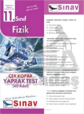 11.Sınıf Fizik Yaprak Test (40 Test)