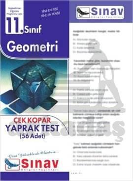 11.Sınıf Geometri Yaprak Test (56 Test)