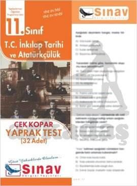 11.Sınıf T.C.İnkılap Tarihi Ve Atatürkçülük Yaprak Test (32 Test)