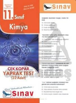 11.Sınıf Kimya Yaprak Test (32 Test)