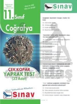 11.Sınıf Coğrafya Yaprak Test (32 Test)