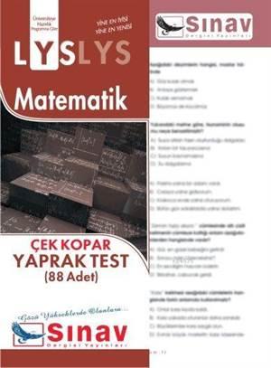 Lys Matematik Yaprak Test (88 Test)