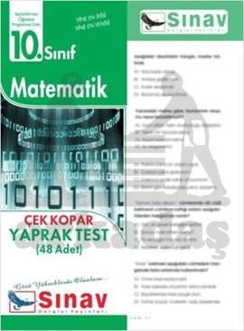 10.Sınıf Matematik Yaprak Test (48 Test)