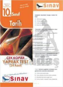 10.Sınıf Tarih Yaprak Test (24 Test)