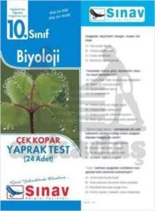 10.Sınıf Biyoloji Yaprak Test (24 Test)