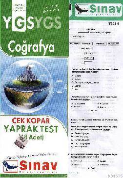 Ygs Coğrafya Yaprak Test (48 Test)