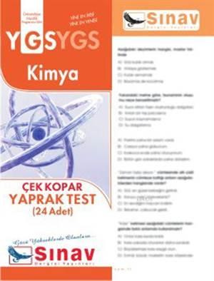 Ygs Kimya Yaprak Test (24 Test)