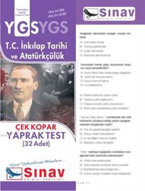 Ygs Tc.İnk.Tar.Ve Atatürkçülük Yaprak Test (32 Test)