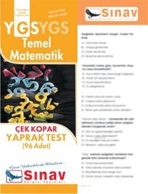 Ygs  Temel Matematik Yaprak Test (96 Test)