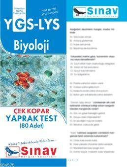 Ygs-Lys Biyoloji Yaprak Test (80 Test)