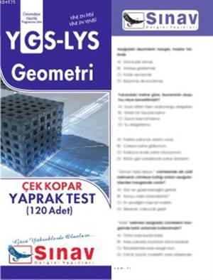 Ygs-Lys Geometri Yaprak Test (120 Test)