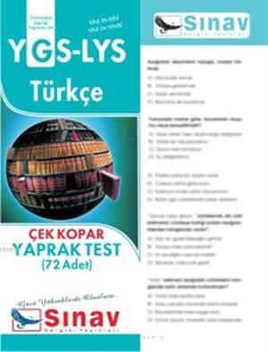 Ygs-Lys Türkçe Yaprak Test (72 Test)