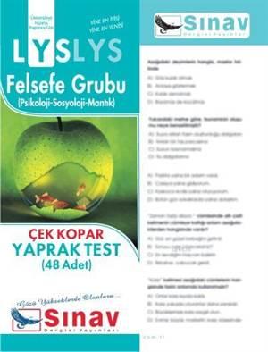 Lys Felsefe Grubu Yaprak Test (48 Test)