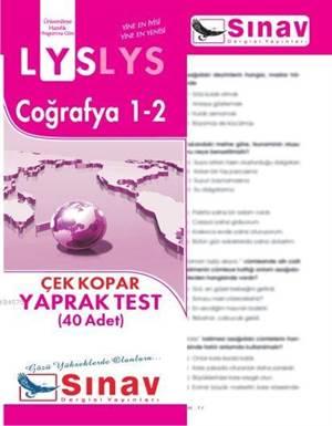 Lys Coğrafya 1-2 Yaprak Test (40 Test)