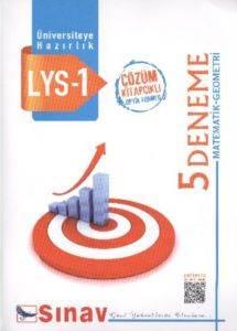 Sınav LYS 1 Matematik-Geometri 5 Çözümlü Deneme