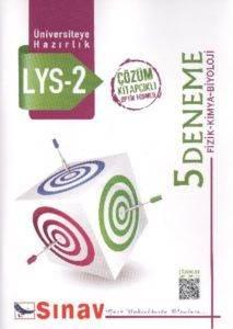 Sınav LYS 2 Fizik-Kimya-Biyoloji 5 Çözümlü Deneme