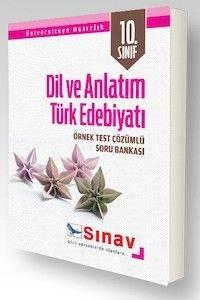 Sınav 10. Sınıf Dil ve Anlatım Türk Edebiyatı Örnek Test Çözümlü Soru Bankası