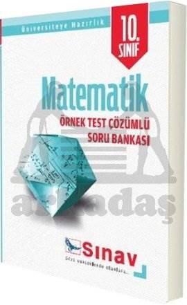 10. Sınıf Matematik Örnek Çözümlü Soru Bankası