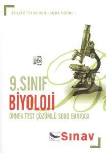 9.Sınıf Biyoloji Örnek Test Çözümlü Soru Bankası