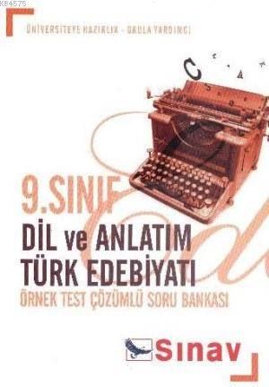9.Sınıf Dil Ve Anlatım Türk Edebiyatı