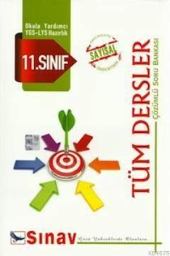 11.Sınıf Sayısal Tüm Dersler Çözümlü Soru Bankası
