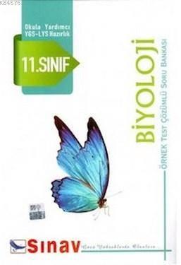 Sınav 11. Sınıf Biyoloji Örnek Test Çözümlü Soru Bankası