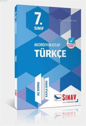 7.Sınıf Türkçe Akordiyon Kitap