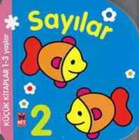 Küçük Kitaplar 1-3 Yaş Sayılar
