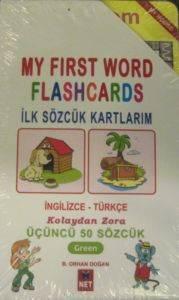 Oyna Öğren-İlk Sözcük Kartlarım Yeşil
