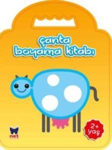 Çanta Boyama Kitabı Mavi