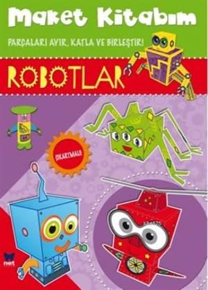 Maket Kitabım Robotlar