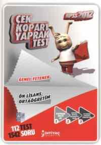 KPSS 2012 Çek Kopar Test Genel Yetenek