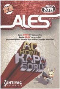 İhtiyaç ALES Aç Konu Kapa Soru 2013