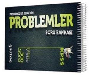 İhtiyaç KPSS Genel Yetenek Problemler Soru Bankası 2013