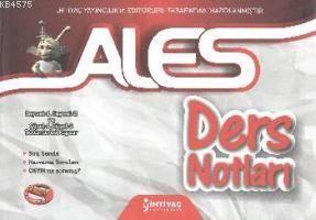İhtiyaç ALES Ders Notları 2013