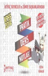 İhtiyaç KPSS Eğitim Bilimleri Patik Ders Notları 2014