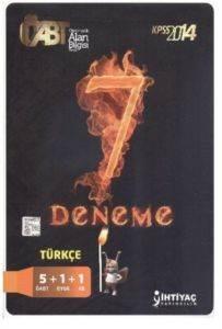 İhtiyaç ÖABT Türkçe 7 Deneme 2014