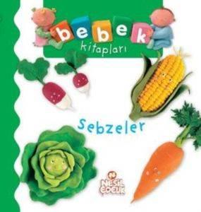 Bebek Kitapları - Sebzeler