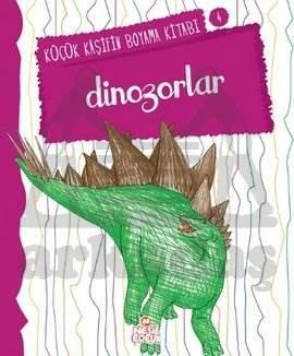 Küçük Kaşifin Boyama Kitabı  Dinozorlar