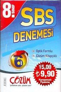 Çözüm 8. Sınıf SBS Denemesi