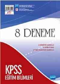 KPSS 8 Deneme Eğitim Bilimlerine Giriş