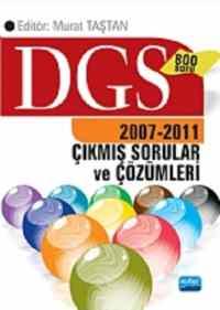 DGS 2007-2011 Çıkmış Sorular ve Çözümleri 800 Soru