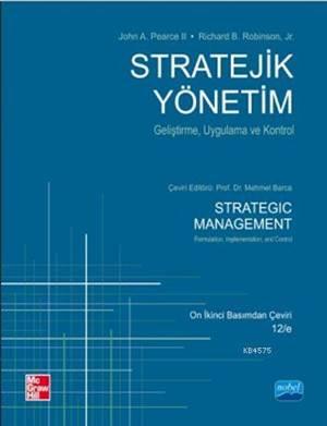 Stratejik Yönetim (Geliştirme, Uygulama Ve Kontrol)